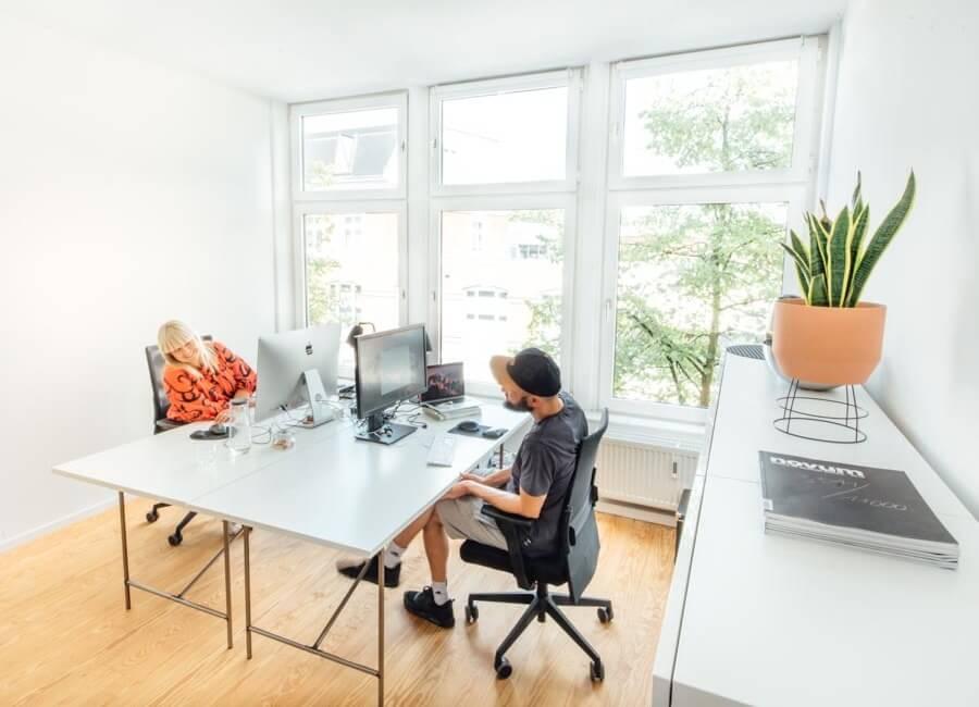 Abschließbare Büros mit 24h Zugang