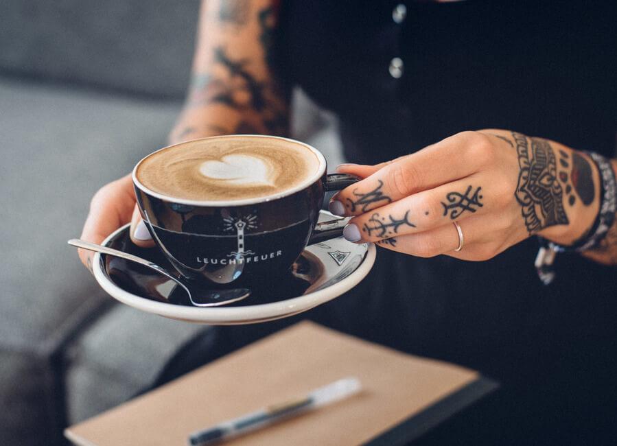 Der Kaffee von der Elbe bringt Dich nach vorne!
